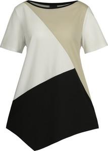 T-shirt Persona by Marina Rinaldi z nadrukiem w street stylu