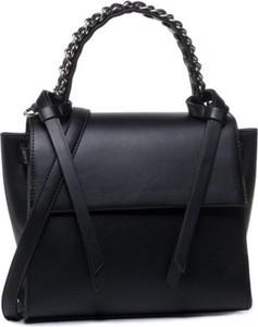 Czarna torebka Jenny Fairy średnia matowa do ręki