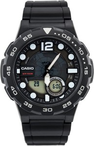 ZEGAREK MĘSKI CASIO AEQ-100W 1AV (zd070a) - WORLD TIME