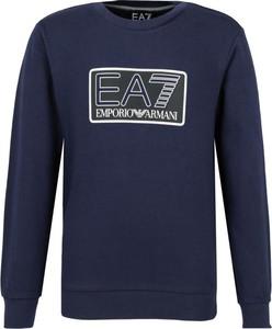 Bluzka dziecięca EA7 Emporio Armani