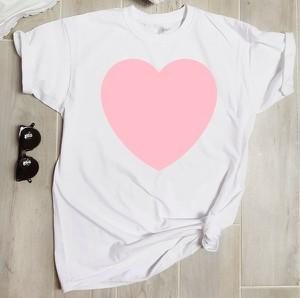 Bluzka Time For Fashion w stylu casual z okrągłym dekoltem z bawełny