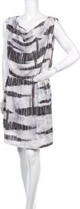 Sukienka Salsa mini prosta z okrągłym dekoltem