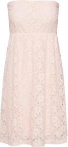 Różowa sukienka Urban Classics w stylu casual