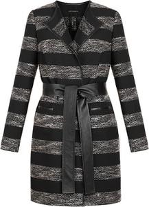 Czarny płaszcz Vitovergelis