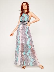 Sukienka Guess bez rękawów z dekoltem w kształcie litery v