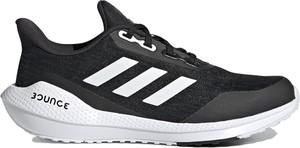 Buty sportowe Adidas z płaską podeszwą z tkaniny sznurowane
