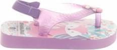 Różowe buty dziecięce letnie Brasileras ze skóry