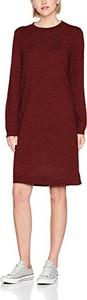 Brązowa sukienka Selected Femme