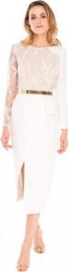 Sukienka L'af Glam z okrągłym dekoltem