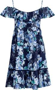 Sukienka My Twin midi z krótkim rękawem