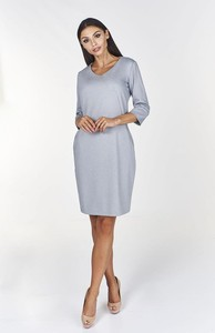 Sukienka Fokus midi z bawełny