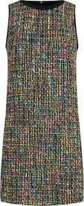 Sukienka Versace Jeans w stylu casual mini z okrągłym dekoltem