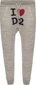 Spodnie sportowe Dsquared2 z bawełny