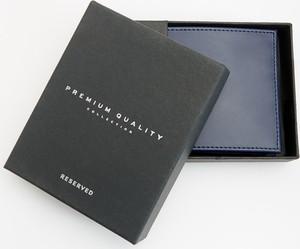 b011614c6e40f Granatowy portfel męski Reserved