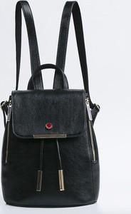 Czarny plecak Monnari