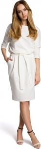 Sukienka MOE ołówkowa z bawełny