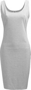 Sukienka Outhorn bez rękawów z okrągłym dekoltem ołówkowa