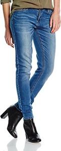 Niebieskie jeansy amazon.de z jeansu w stylu casual