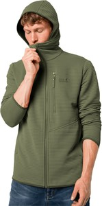 Zielona bluza Autoryzowany Sklep Jack Wolfskin z polaru