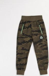 Zielone spodnie dziecięce Multu