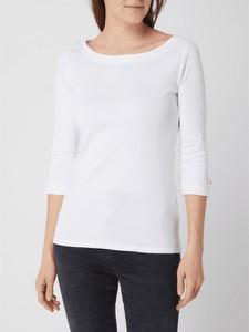 Bluzka Esprit z okrągłym dekoltem w stylu casual z długim rękawem