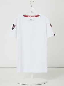 Koszulka dziecięca Alpha Industries z bawełny