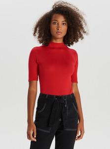 Czerwona bluzka Cropp