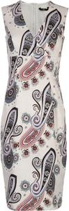 Sukienka Nife z dekoltem w kształcie litery v ołówkowa