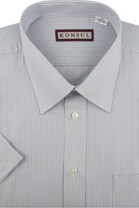 Koszula Konsul z klasycznym kołnierzykiem z bawełny