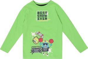 Zielona koszulka dziecięca Blue Seven z dżerseju