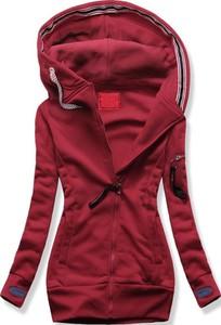 Czerwona bluza Netmoda długa