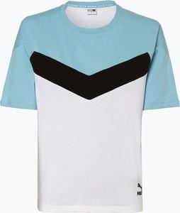 T-shirt Puma z okrągłym dekoltem w młodzieżowym stylu z krótkim rękawem