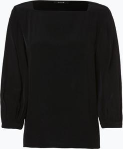 Czarna bluzka Opus z długim rękawem