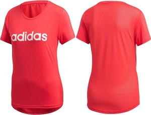 T-shirt darcet z okrągłym dekoltem z krótkim rękawem w sportowym stylu