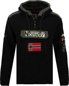 Czarna bluza Geographical Norway
