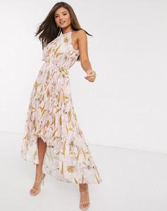 Różowa sukienka Ted Baker midi