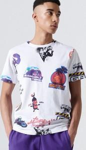T-shirt Cropp w młodzieżowym stylu z bawełny