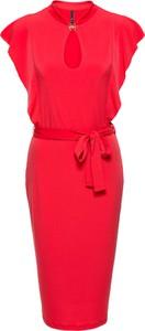 Bonprix bodyflirt boutique sukienka z dekoracyjnym zapięciem