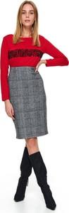 Spódnica Top Secret w stylu casual z tkaniny midi