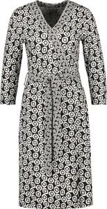 Sukienka Gerry Weber mini z długim rękawem w stylu casual