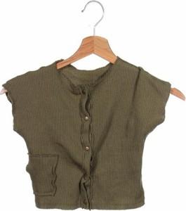 Zielony sweter ZARA