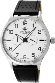 Zegarek Męski Gino Rossi GRUNDER EXCLUSIVE CHONOGRAF E10856A-3A1 12754