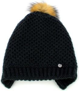 Czarna czapka Liu-Jo