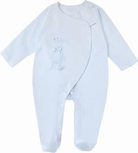 Sofija Pajac niemowlęcy KULECZKA niebieski NewYorkStyle