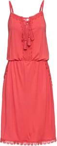 Różowa sukienka bonprix RAINBOW w stylu casual