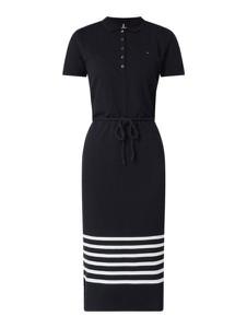 Sukienka Tommy Hilfiger prosta z krótkim rękawem