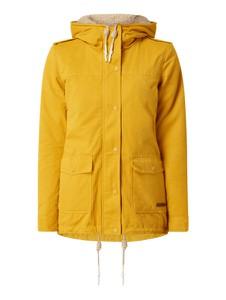 Żółta kurtka Review w stylu casual z bawełny