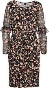 Sukienka bonprix BODYFLIRT midi z długim rękawem
