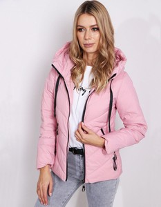 Różowa kurtka Dstreet