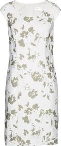 Sukienka bonprix bpc selection ołówkowa midi z lnu